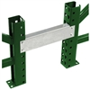 Row Spacers for Teardrop Pallet Racks
