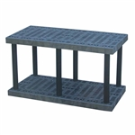 "DuraShelf  48""w x 24""d x 27""h Base 2-Shelf"