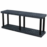 "DuraShelf 66""w Base 2-Shelf System"