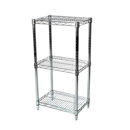 18 Quot D Three Tier Wire Shelving Kit Heavy Duty Storage