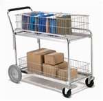 For the transportation of packages, files, and other materials.