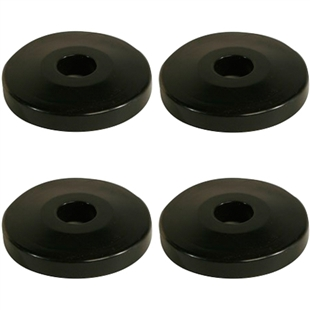 Donut Bumpers for Wire Shelving Carts- pack of 4
