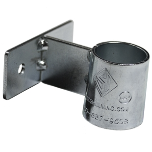 Wall Mounting Bracket for Round Chrome Post