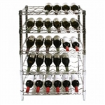 SI Chrome Wire Wine Rack Kits