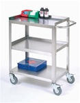 Stainless Steel Push Cart
