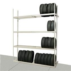 Rivetwell Single Row Tire Storage Starter Unit