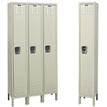 Galvanite Lockers - Single Tier - Hallowell