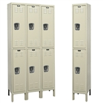 Galvanite Lockers - Double Tier - Hallowell