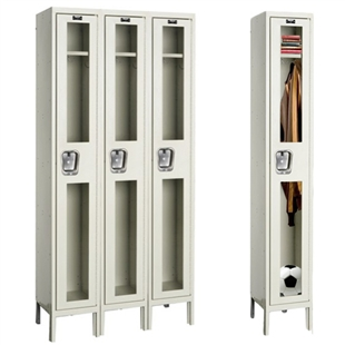 Safety View Locker - Single Tier