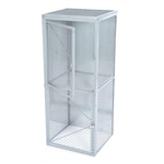 Wire Mesh Double Tier Locker-Starter