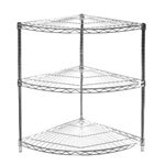 "SI 24"" Radius Corner Unit w/ 3 Shelves"