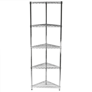 "SI 24"" Triangle Unit w/5 Shelves"