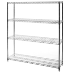 "12""d x 48""w Wire Shelving with 4 Shelves"