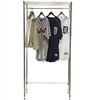 Basic freestanding wire closet shelving