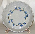 Great Bay Pottery Ceramic Pie Plate