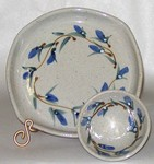 Great Bay Pottery Oil Dipping Set