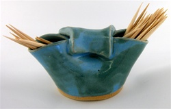 G-WIZ POTTERY- TOOTHPICK HOLDER