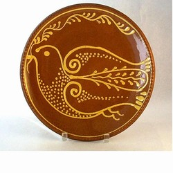 Hendersons Redware Pottery Dove of Peace