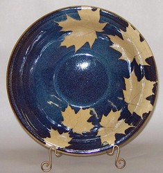 KALEIDOSCOPE POTTERY--  SERVING BOWL