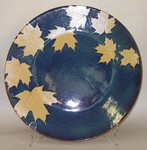 KALEIDOSCOPE POTTERY-- JUMBO ROUND SERVING PLATTER