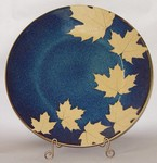 KALEIDOSCOPE POTTERY-- MEDIUM SERVING PLATTER 13""