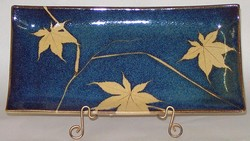 KALEIDOSCOPE POTTERY-- MEDIUM RECTANGULAR TRAY