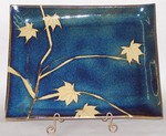 KALEIDOSCOPE POTTERY-- LARGE RECTANGULAR SERVING TRAY