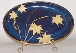 KALEIDOSCOPE POTTERY-- SMALL OVAL SERVING DISH