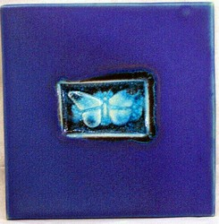 "MICHAEL COHEN- #4 -- ""Butterfly"" pattern tile"