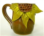 MudWorks Pottery Sunflower Mug by JoAnne Stratakos