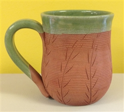 MudWorks Pottery Wheat Mug by JoAnn Stratakos