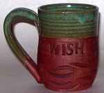 "MudWorks Pottery ""Wish"" Mug by JoAnne Stratakos"