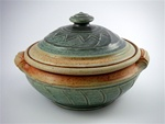 PHOENIX POTTERY - COVERED CASSEROLE