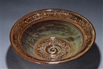 Robert Fishman Handmade Ceramic Medium Serving Bowl