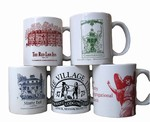 Sheffield Pottery 72 Custom Logo Mugs