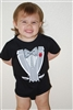 "Famous Design Tuxedo ""Onesie"" for Infant/Toddler"