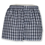 620AST - Assorted Checkered Men's Jail Inmate Boxers