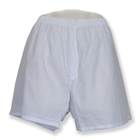 620W - White Men's Jail Inmate Boxers