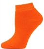 Orange Ankle Socks