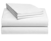 66104 - White Twin Jail Bed Sheets
