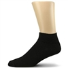 832BLK - Black Ankle Jail Inmate Socks