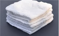 White Inmate Wash Cloths