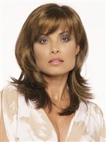 Naturally Layered Synthetic Mono Part Wig - Nadia by Envy