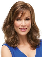 Long, Wavy Layered Jon Renau Synthetic Wig - Katherine