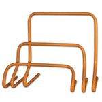 "Champro Orange Training Hurdle - 6"", 12"", and 18"""