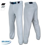 Champro Pro-Plus Youth Elastic Bottom Baseball Pants