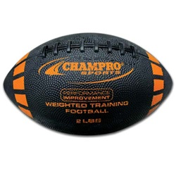 Champro Weighted Training Football - Intermediate Size