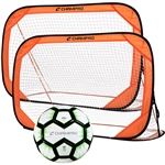 Champro Pop Up Pair Soccer Goals and Ball Set