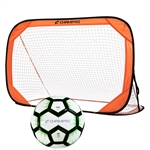 Champro Pop Up Single Soccer Goal and Ball Set