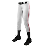 Champro Girl's Low Rise Tournament Pant W/ Pipe